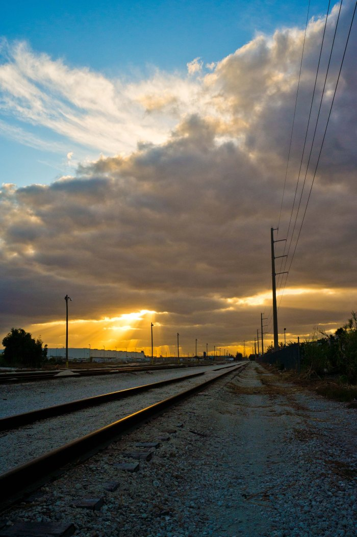 Hope on the railroad